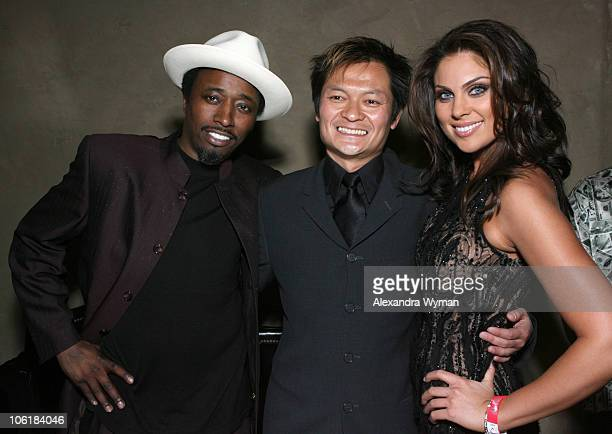 Eddie Griffin Andy Cheng director and Nadia Bjorlin