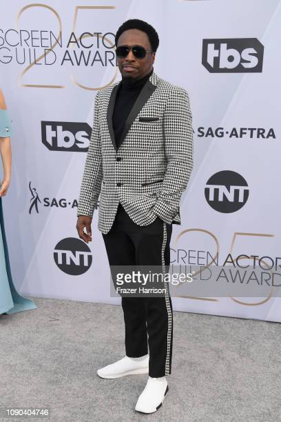 Eddie Griffin attends the 25th Annual Screen ActorsGuild Awards at The Shrine Auditorium on January 27 2019 in Los Angeles California