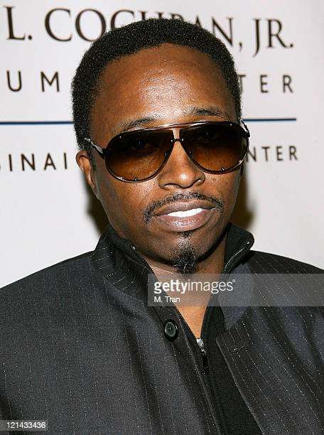 Eddie Griffin during Johnnie L. Cochran, Jr. Brain Tumor Center Opening Gala - Red Carpet at The Beverly Wilshire Hotel in Beverly Hills, California,...