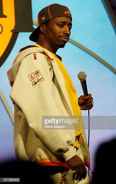 Eddie Griffin during The Laugh Factory Celebrates Bob Hope's 100th Birthday With a Special Comic Tribute To The Troops at The Laugh Factory in West...