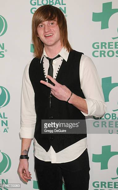 Eddie Hassell arrives at Global Green USA's 8th Annual Pre-Oscar Party at Avalon Hollywood on February 23, 2011 in Hollywood, California.