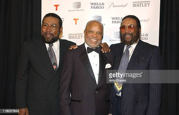 Eddie Holland Berry Gordy and Brian Holland at the 2006 Rick Weiss Humanitarian Awards Presented by the Greenburg Family Foundation as a tribute to...