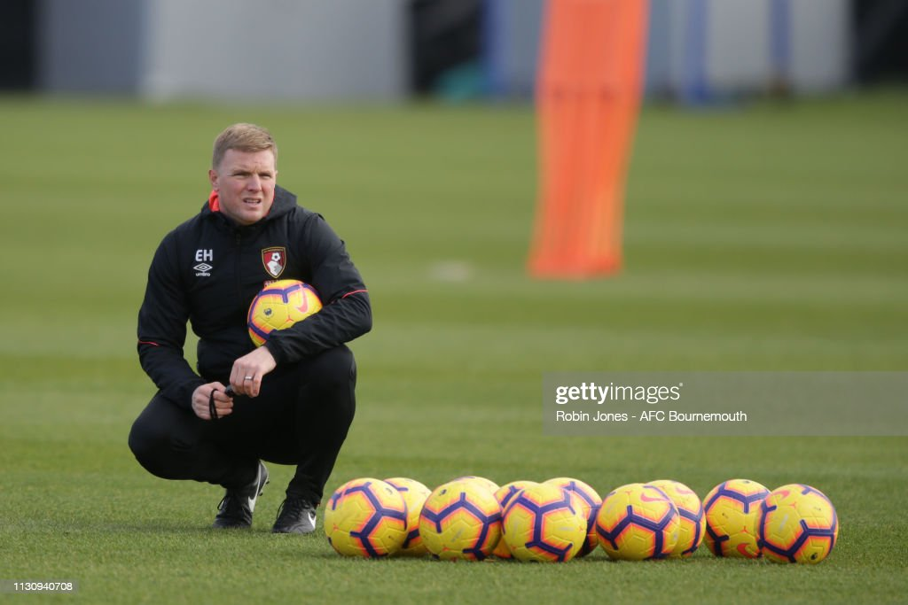 GBR: AFC Bournemouth Training Session