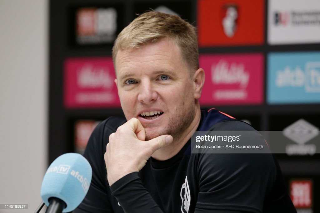 GBR: AFC Bournemouth Training and Press Conference