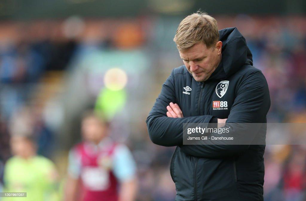 Burnley FC v AFC Bournemouth  - Premier League : News Photo