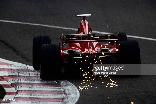 Eddie Irvine Ferrari F300 Grand Prix of Belgium Circuit de SpaFrancorchamps 30 August 1998