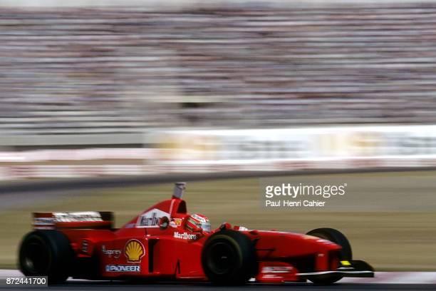 Eddie Irvine, Ferrari F310B, Grand Prix of Argentina, Autodromo Juan y Oscar Galvez, Buenos Aires, 13 April 1997.