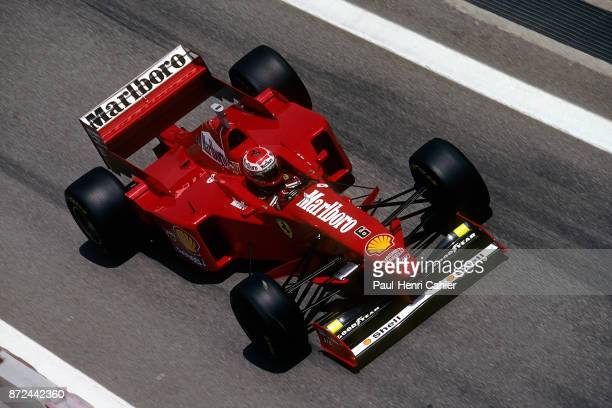 Eddie Irvine Ferrari F310B Grand Prix of Spain Circuit de BarcelonaCatalunya 25 May 1997