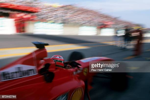 Eddie Irvine Ferrari F399 Grand Prix of Japan Suzuka Circuit 31 October 1999