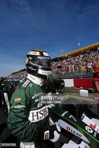 Eddie Irvine JaguarCosworth R1 Grand Prix of Australia Albert Park Melbourne Grand Prix Circuit 12 March 2000