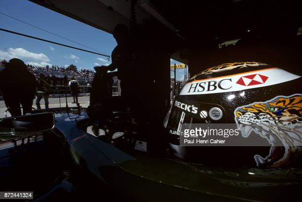 Eddie Irvine JaguarCosworth R2 Grand Prix of Canada Circuit Gilles Villeneuve 10 June 2001