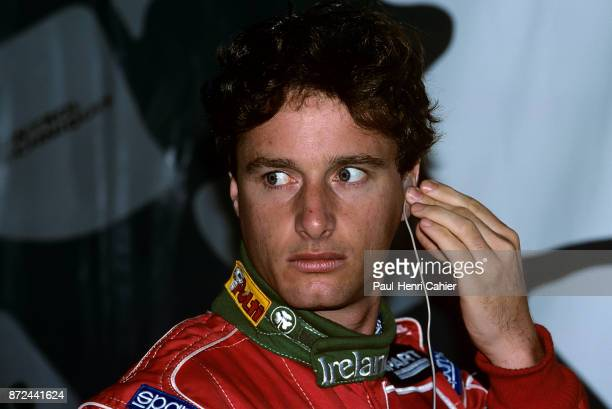 Eddie Irvine JordanPeugeot 195 Grand Prix of Argentina Autodromo Juan y Oscar Galvez Buenos Aires 09 April 1995