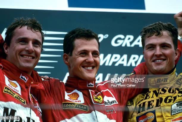 Eddie Irvine Michael Schumacher Ralf Schumacher Grand Prix of Italy Monza 13 September 1998