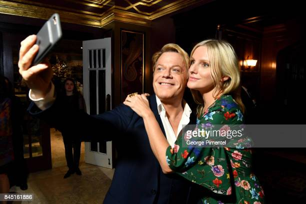 Eddie Izzard and Laura Brown attend The Hollywood Foreign Press Association and InStyle's annual celebrations of the 2017 Toronto International Film...