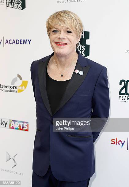 Eddie Izzard arrives for the The South Bank Sky Arts Awards at The Savoy Hotel on June 5 2016 in London England
