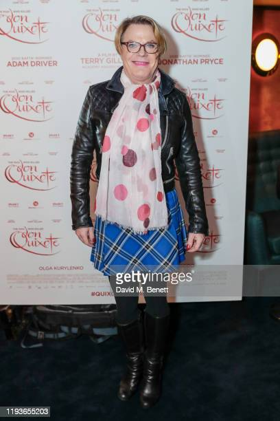 """Eddie Izzard attends a special screening of """"The Man Who Killed Don Quixote"""" at The Curzon Mayfair on January 14, 2020 in London, England."""