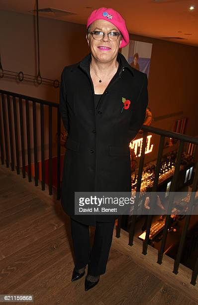 Eddie Izzard attends the press night after party celebrating The Old Vic's production of King Lear at the Ham Yard Hotel on November 4 2016 in London...