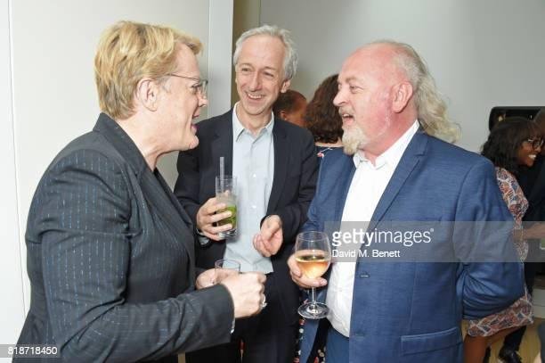 Eddie Izzard Roly Keating and Bill Bailey attend the Mayor of London's Summer Culture Reception on July 18 2017 in London England