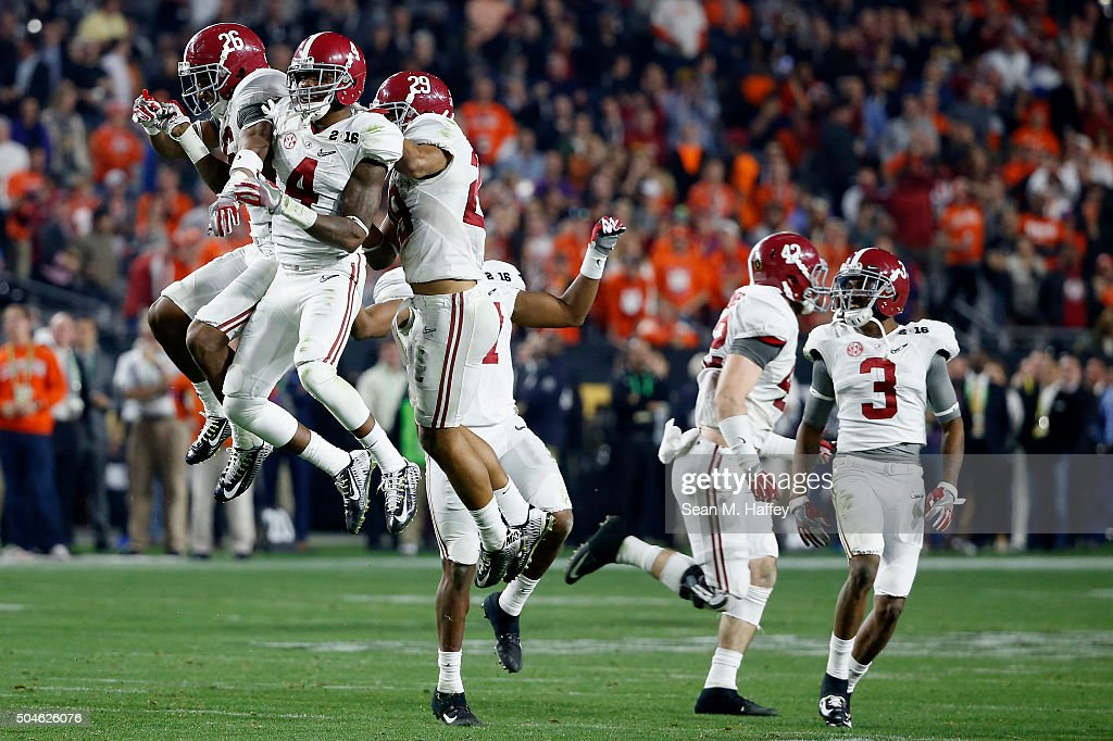 CFP National Championship - Alabama v Clemson : News Photo
