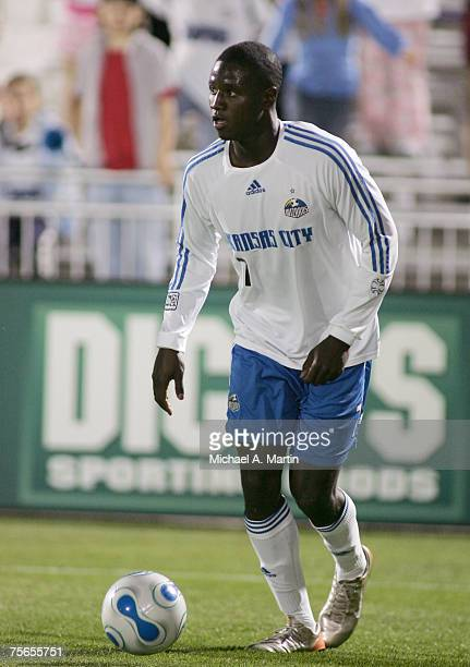 Eddie Johnson of the Kansas City Wizards during the game against Colorado Rapids on May 19 2007 at Dicks Sporting Goods Park in Commerce City...