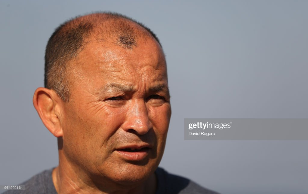 Eddie Jones, the England head coach faces the media during the England media session held on June 14, 2018 in Umhlanga Rocks, South Africa.