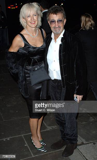 Eddie Jordan and Marie Jordan arrive for the La Dolce Vita charity event at the Old Billingsgate Market on December 11 2006 in London England