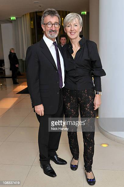 Eddie Jordan and Marie Jordan attend Burns Night celebrations at St Martins Lane on January 25 2011 in London England