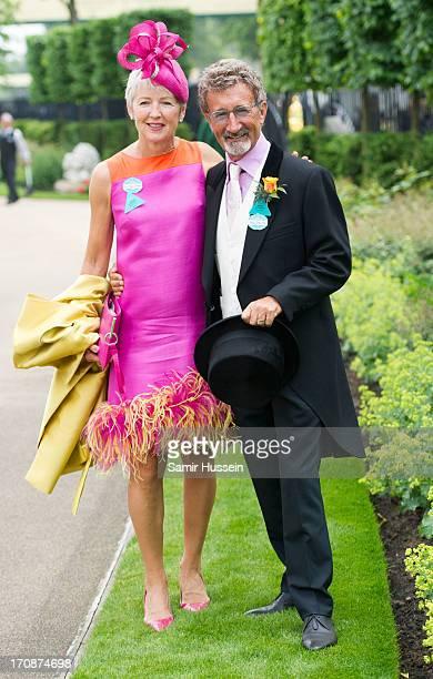 Eddie Jordan and Marie Jordan attend day 2 of Royal Ascot at Ascot Racecourse on June 19 2013 in Ascot England