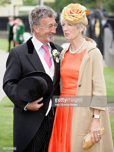 Eddie Jordan and Marie Jordan attend day one of Royal Ascot at Ascot Racecourse on June 15 2010 in Ascot England