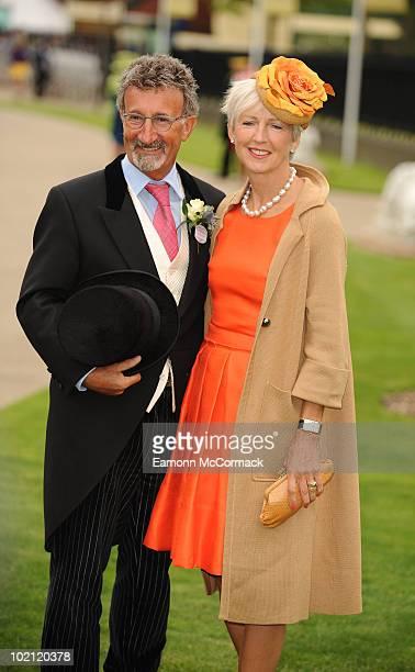 Eddie Jordan and Marie Jordan attend Royal Ascot at Ascot Racecourse on June 15 2010 in Ascot England
