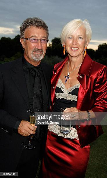 Eddie Jordan and Marie Jordan attend the Royal Parks Foundation Summer Party hosted by CandyCandy at the Serpentine Lido on September 6 2007 in...