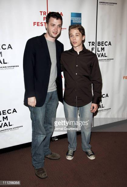 Eddie Kaye Thomas and Lou Taylor Pucci during 5th Annual Tribeca Film Festival 'Fifty Pills' Screening at Pace University Auditorium in New York City...