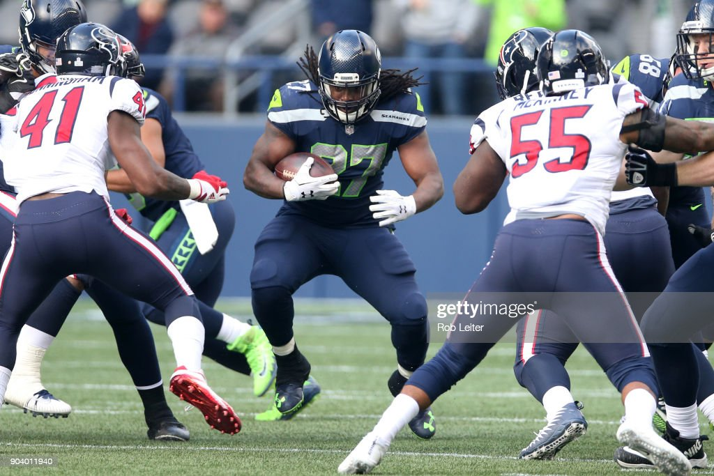 Houston Texans v Seattle Seahawks : Photo d'actualité