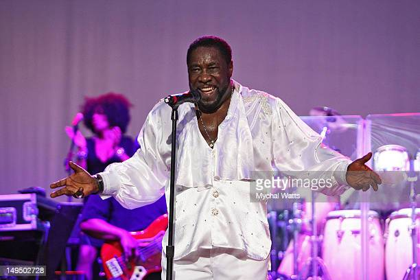 Eddie Levert performs at the Mann Center For Performing Arts on July 27 2012 in Philadelphia Pennsylvania