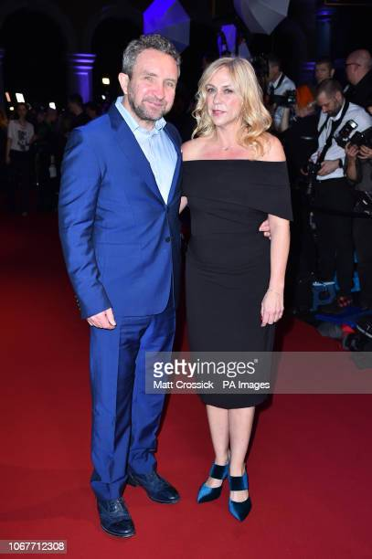 Eddie Marsan and Eddie Marsan and Janine SchneiderMarsan attending the twentyfirst British Independent Film Awards held at Old Billingsgate London