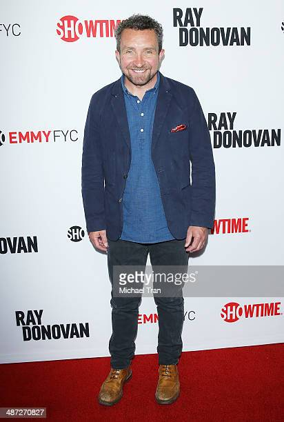 Eddie Marsan arrives at Showtime's Ray Donovan special screening and panel discussion held at Leonard H Goldenson Theatre on April 28 2014 in North...