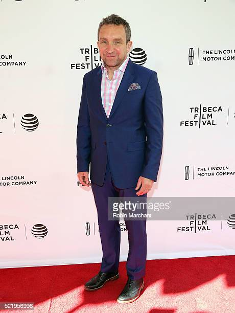 Eddie Marsan attends A Kind of Murder premiere during 2016 Tribeca Film Festival at SVA Theatre 2 on April 17 2016 in New York City