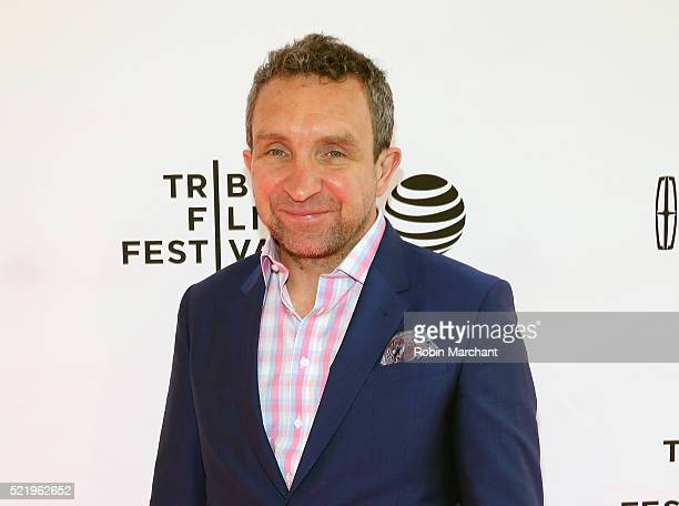 Eddie Marsan attends 'A Kind of Murder' premiere during 2016 Tribeca Film Festival at SVA Theatre 2 on April 17 2016 in New York City