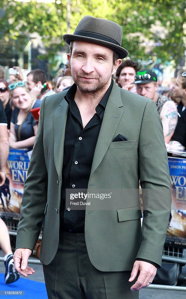 Eddie Marsan attends the World film Premiere of 'The World's End' at The Empire Cinema on July 10, 2013 in London, England.