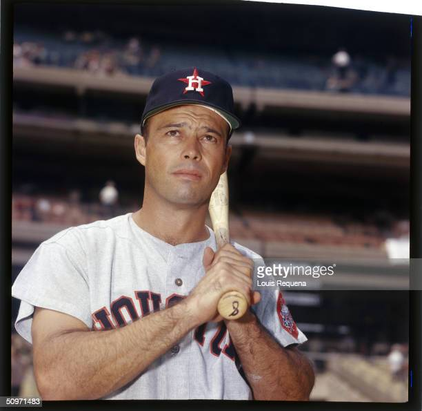Eddie Mathews of the Houston Astros poses for a portrait in 1967