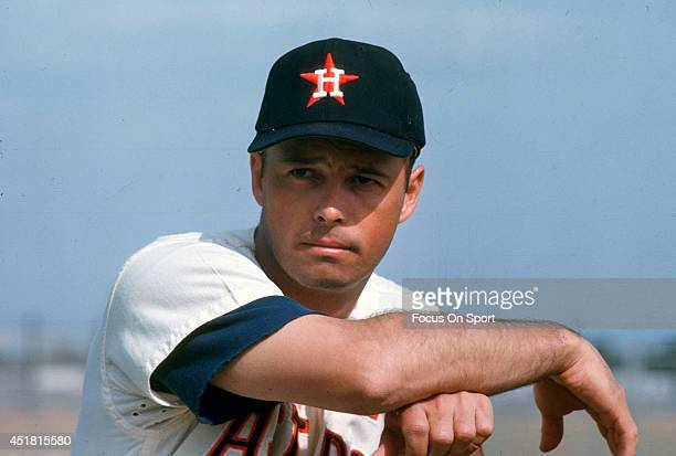 Eddie Mathews of the Houston Astros poses for this photo during Major League Baseball spring training circa 1967 Mathews played for the Astros in 1967