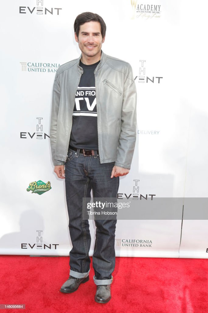 Eddie Matos attends 1st annual T.H.E. event hosted by Chris Harrison and The Band From TV at Calabasas Tennis and Swim Center on June 9, 2012 in Calabasas, California.