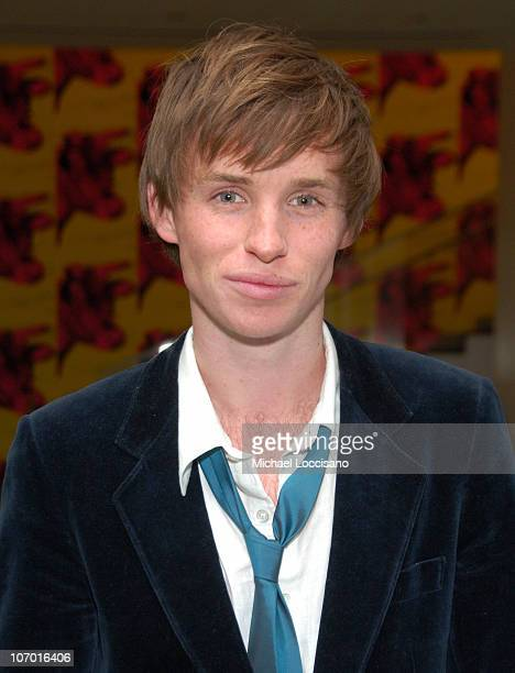 Eddie Mayne during Miss Potter Special Private Screening at MoMA Theatre in New York City New York United States