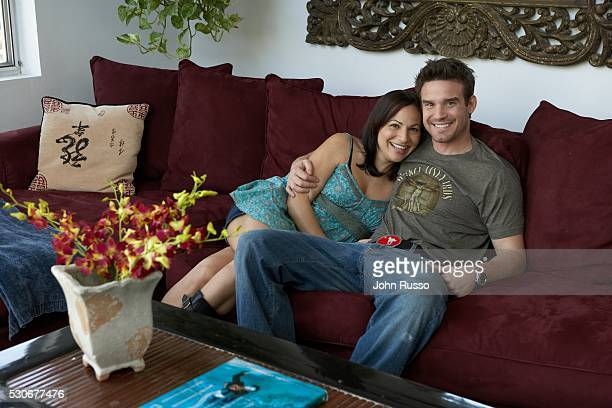 Eddie McClintock at Home with Wife Lynn Sanchez