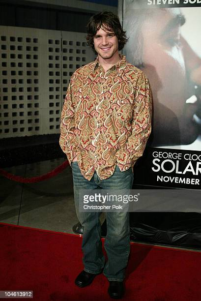 Eddie McClintock during Premiere Screening of Solaris at Pacific Cinerama Dome in Hollywood California United States