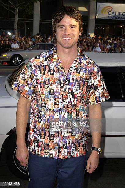 Eddie McClintock during Windtalkers Premiere at Grauman's Chinese Theatre in Hollywood California United States