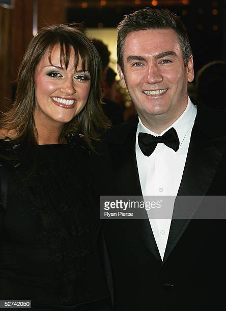 Eddie McGuire and wife Carla McGuire arrive at the 47th Annual TV Week Logie Awards at the Crown Entertainment Complex May 1 2005 in Melbourne...