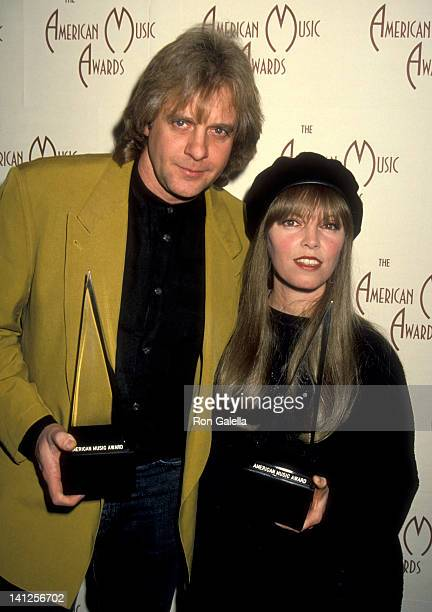 Eddie Money and Pat Benatar at the 20th Annual American Music Awards NominationsPress Conference Beverly Hills Hotel Beverly Hills