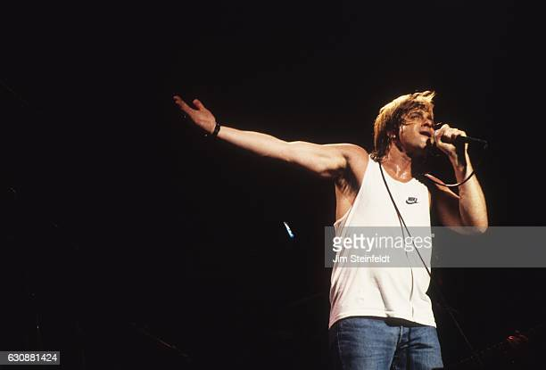 Eddie Money performs at the Orpheum Theatre in Minneapolis Minnesota on May 2 1987