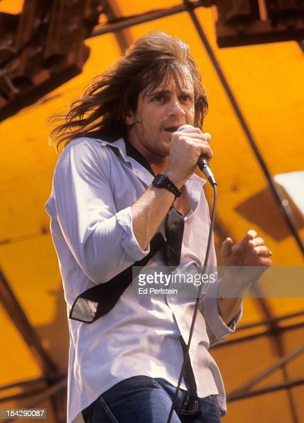 Eddie Money performs live at Oakland Stadium on May 6 1979 in Oakland California